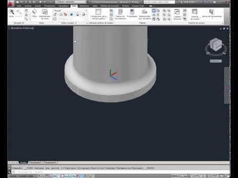 autocad-práctico:-crear-un-bolardo-en-3d-(vídeo-30)