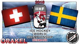 EISHOCKEY WELTMEISTERSCHAFT 2018 FINALE [Deutsch/German] - Schweden - Schweiz (ORAKEL) ★ IIHF 2018