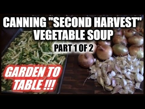 Canning Vegetable Soup | Recipe | Garden To Table