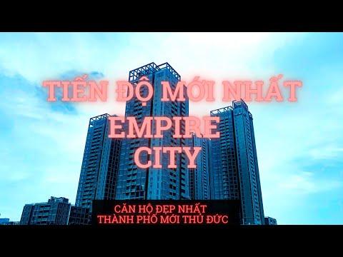 Empire City tiến độ mới nhất Linden và Tilia - Căn Hộ Đẹp Nhất Thành phố mới Thủ Đức .