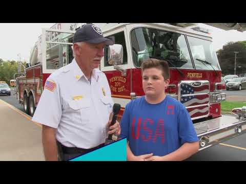 Penfield Fire Company Essay Contest Winner Fire Truck Ride