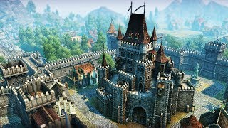 ANNO 1404   Ep. 2   Knights, Castles, & Invasion   Anno 1404 City Building Tycoon Campaign Gameplay
