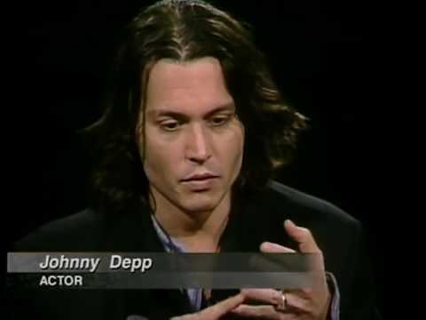 Johnny Depp Job İnterview On Charlie Rose 1999 & Jon Bon Jovi 1997