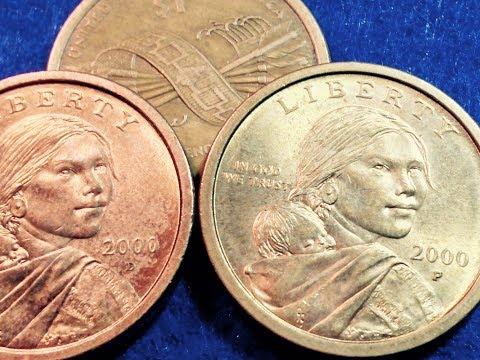 Fake 'Edge Lettering' Error Sacagawea Dollar Coins