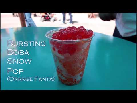 Bursting Boba Snow Pop @ Seven Seas Food Festival @ Sea World