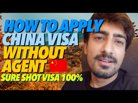 HOW TO APPLY CHINA VISA WITHOUT TRAVEL AGENT | CHINA VISA PROCESS FOR INDIANS