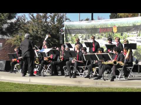 Jazz Band @ Jesuit Open House playing