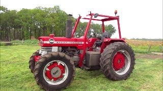 Massey Ferguson 1080 Allrad Traktor (1974) Vorführung !!!
