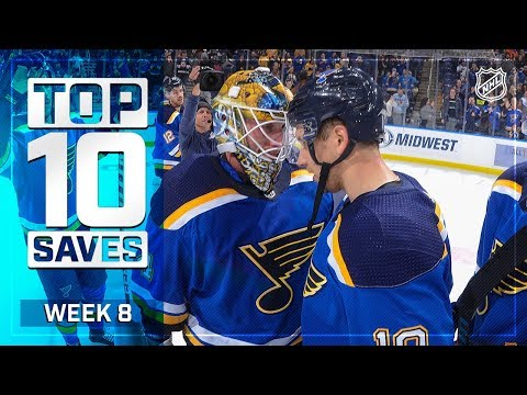 Top 10 Saves from Week 8