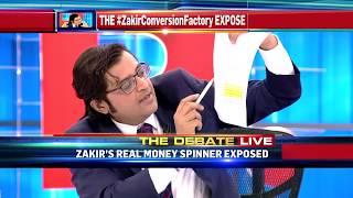 Arnab Goswami's Debate On Zakir Naik's Conversion Factory