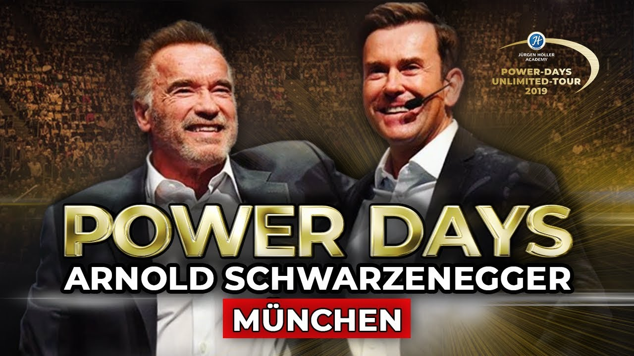 Jurgen Holler Power Days Munchen Aftermovie Special Guest Arnold Schwarzenegger Youtube