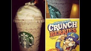 Cap'n Crunch Frappuccino (secret Starbucks Menu)
