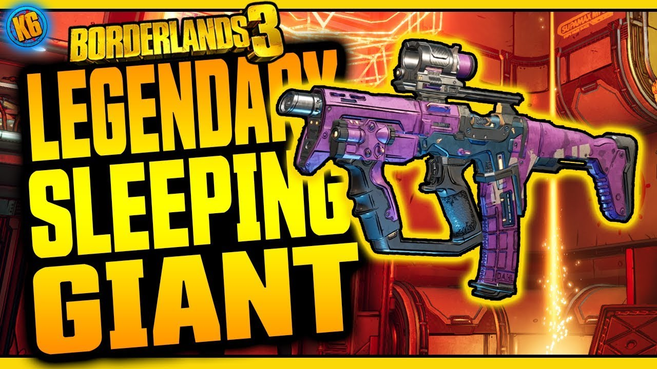 Borderlands 3 | SLEEPING GIANT | Legendary Weapon Review thumbnail