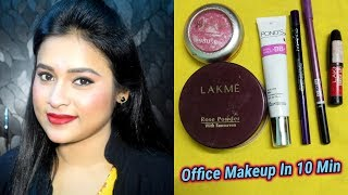 Office Makeup In 10 Minutes/under 150/-