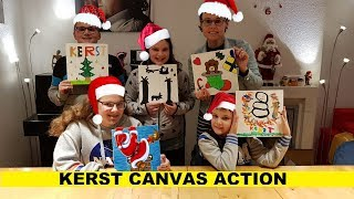 ACTION CANVAS KERST - Familie Vloggers #81