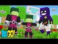 Minecraft: WHO'S YOUR FAMILY? - O BEBÊ MALUCO DO MUTANO E DA RAVENA! (Jovens Titãs em Ação)