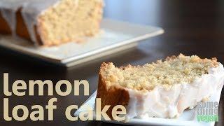 Lemon Loaf Cake (vegan And Gluten-free) Something Vegan