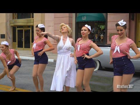 [4K] Marilyn Monroe Street show at Universal Studios Florida 2016