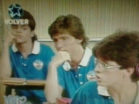 Ricky Martin con 15 años y Luis Miguel con 12 años. TV Argentina.