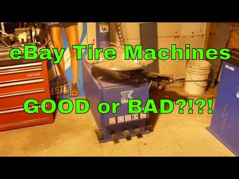 EBay Chinese Tire Machine Changer And Balancer Review