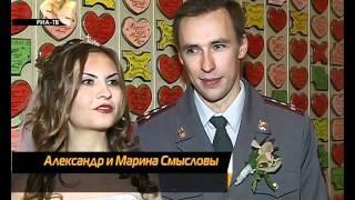 Невеста гордится своим женихом-сотрудником УВД.flv