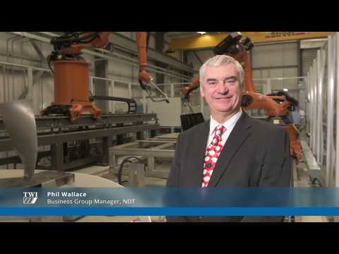 TWI's Non-Destructive Testing (NDT) Technical Business Group Manager, Phillip Wallace