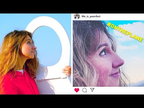 INSTAGRAM VS REAL LIFE    PHOTO LIFE HACKS
