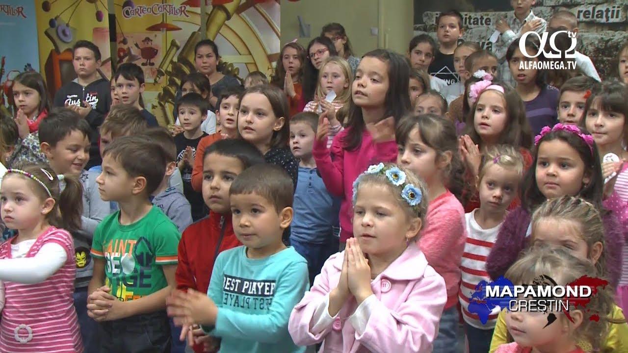 Cartea Cartilor - un proiect de evanghelizare pentru copii - reportaj