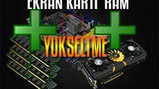 Graphics Card Upgrade RAM , Screen Gaming Boardless
