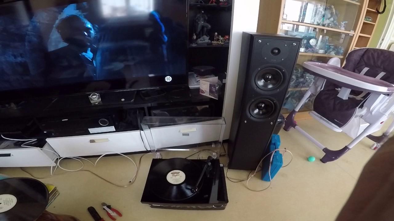 platine vinyle fonctionne bien youtube. Black Bedroom Furniture Sets. Home Design Ideas