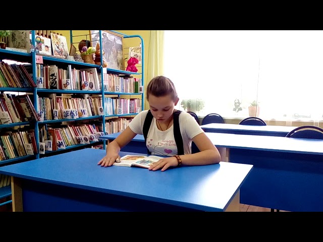 Изображение предпросмотра прочтения – НастяКлючарова читает отрывок изпроизведения «Волшебное слово» В.А.Осеевой