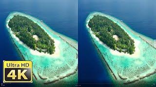 Malediven amazing DJI-Osmo+ 3D Side By Side VR 4k video ultra hd