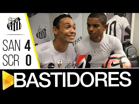 Santos 4 x 0 Sporting Cristal   BASTIDORES   CONMEBOL Libertadores Bridgestone (23/05/17)