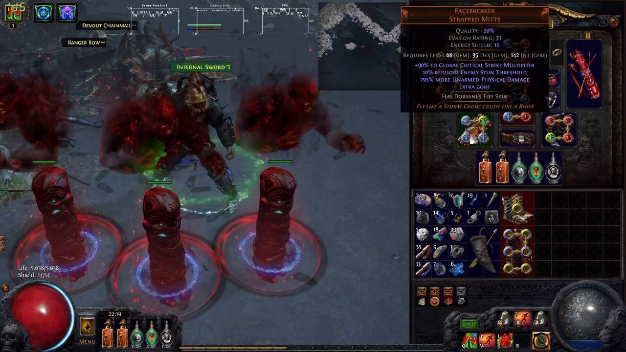 Path Of Exile Unarmed Build