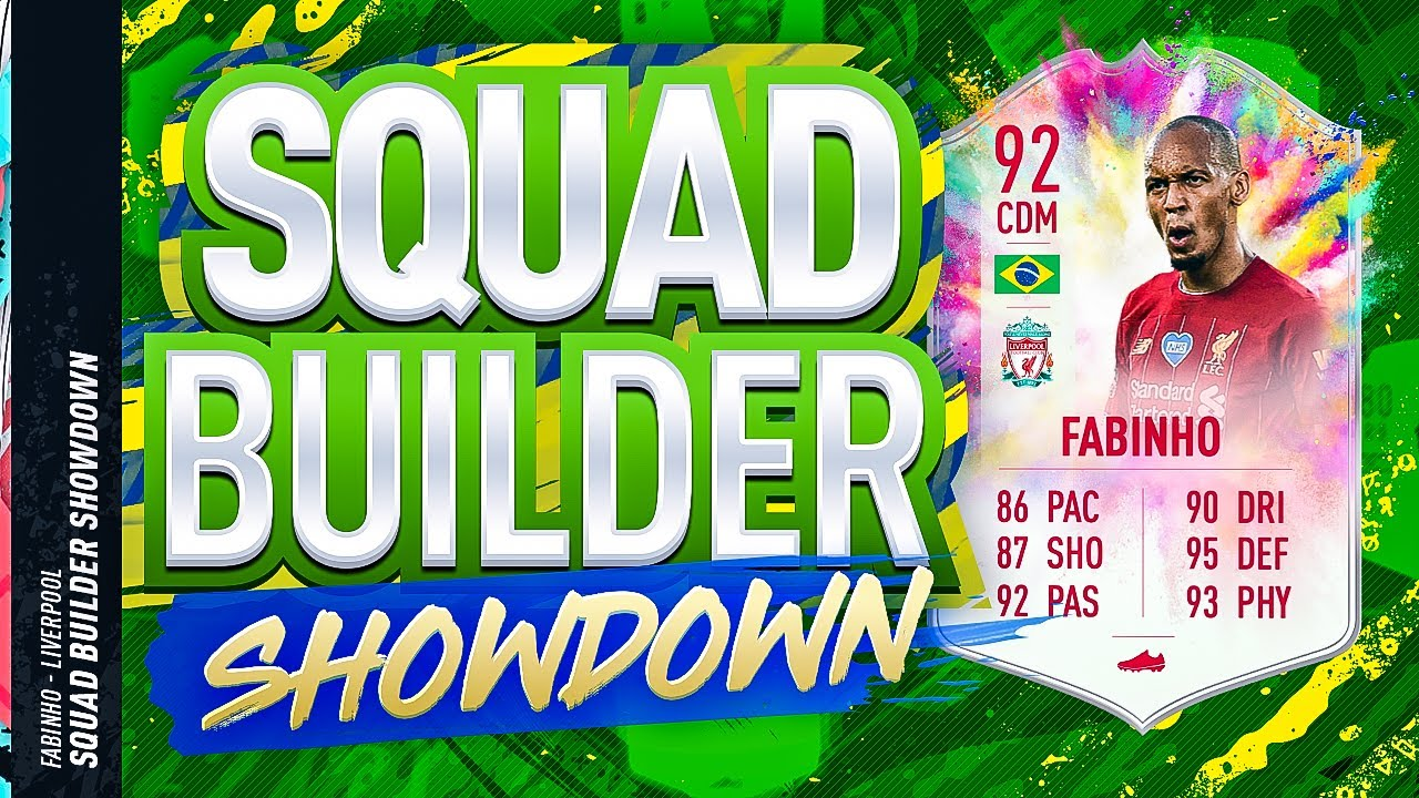Fifa 20 Squad Builder Showdown!! SUMMER HEAT FABINHO!!