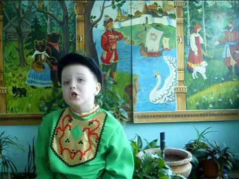Изображение предпросмотра прочтения – КириллКузьменко читает произведение «Ехала деревня» (Русский фольклор )