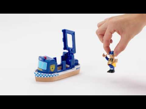 BRIO World - 33820 Police Boat