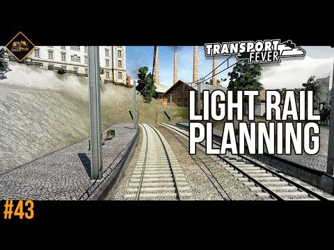 Planning a light railway in The Alps | Transport Fever Gotthard Line #43