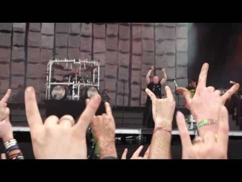 Disturbed - Inside The Fire (Download Festival, 2016.06.12)