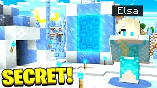 I Found Elsa's Secret Minecraft Portal!
