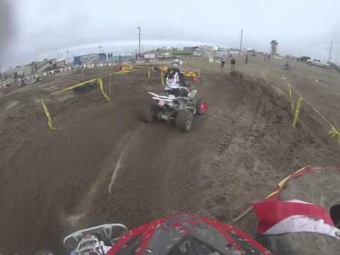 2016 WORCS Rd 1 ATV Open B Class Honolulu Hills Taft Part 2 Quad Race