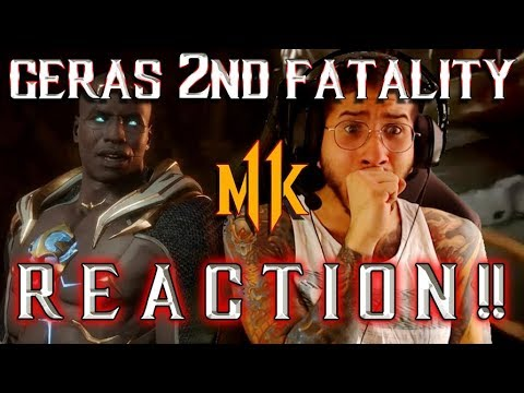 Mortal Kombat 11: Geras 2nd Fatality (REACTION!) thumbnail