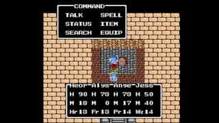 Dragon Warrior III [NES] Playthrough #16, The Pyramid (1/4): The Magic Key