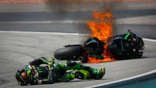 Pol Espargaro crashes heavily in morning practice