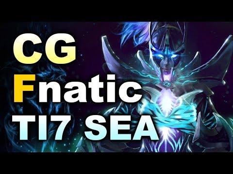 Fnatic vs Clutch Gamers - TI7 SEA Final #2 DOTA 2