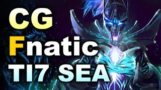 Fnatic vs Clutch Gamers - TI7 SEA Final #2 DOTA 2