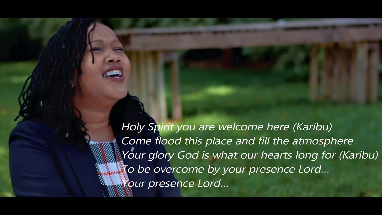 Download Alice Kimanzi - Holy Spirit lyric video [Cover]
