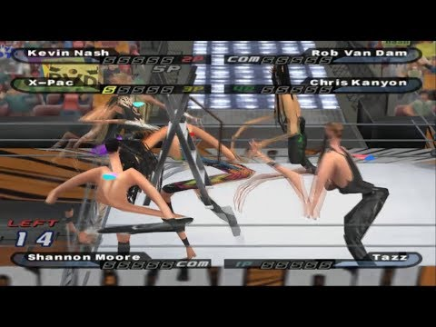 NL Not So Live - WWE SmackDown! Shut Your Mouth W/ GAMESHARK CODES!