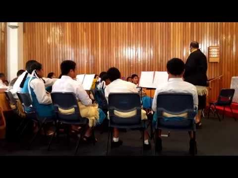 Tokaikolo - Pacific Christian School Brass Band - 4th Week, 1st Service