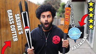 Download I Bought DIY NARUTO THEMED Zombie Apocalypse SURVIVAL WEAPONS From Amazon! (5 STAR) *NARUTO EDITION* Mp3 and Videos